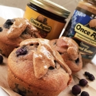 Almond Wild Blueberry Muffin